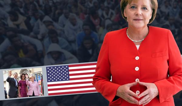 1,5 Millionen: Merkels Vollzugsmeldung an die US-Ostküste