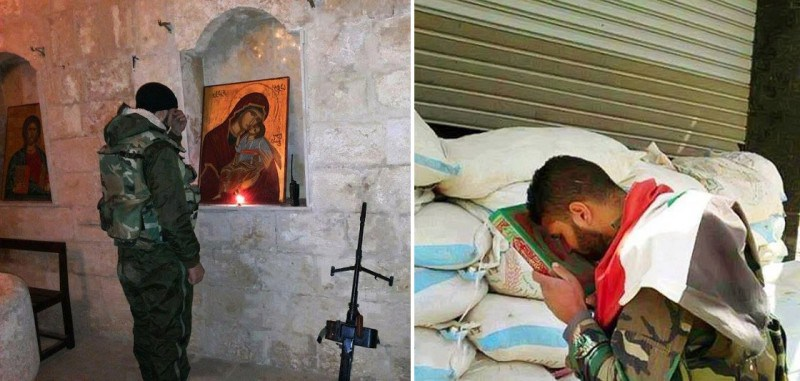 christian-and-muslim-syrian-patriot-soldiers-praying-e1397518218532
