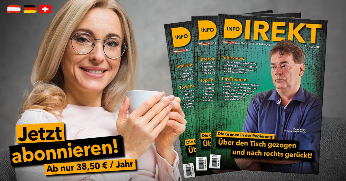 Info-DIREKT, Ausgabe 31, jetzt abonnieren!